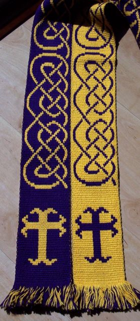 Cross Moline and Knotwork